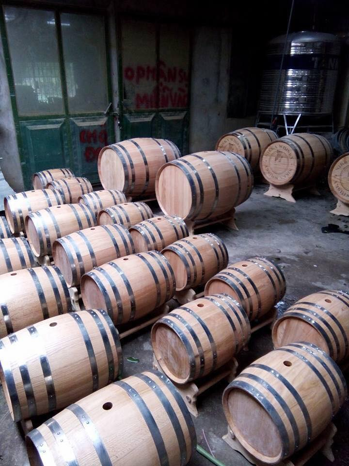 thùng ngâm rượu